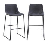 זוג כסאות בר דגם ALABAMA  – משלוח חינם