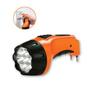 פנס LED עוצמתי נטען - ללא צורך סוללות