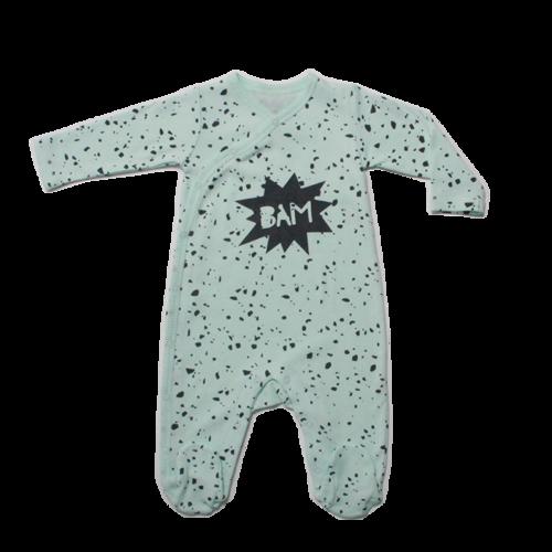 Minene אוברול (6-0 חודשים)-  ירוק מנטה