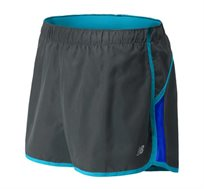מכנסי ריצה מקצועיים לנשים New Balance בצבע שחור/כחול