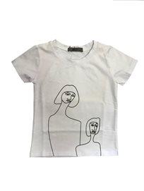 ORO חולצה (7-2 שנים) -  לבן