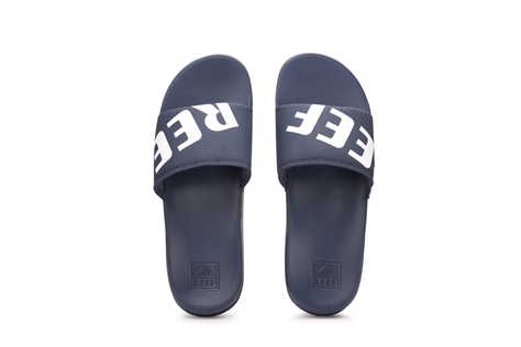 Reef גברים//One Slide Navy White