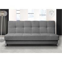 ספה לאירוח נפתחת למיטה זוגית עם ארגז מצעים דגם מיכל מבית HOME DECOR