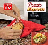 מהיר, יעיל וטעים! שקית פטנט להכנת תפוחי אדמה מושלמים במיקרוגל בקלות תוך 4 דקות!