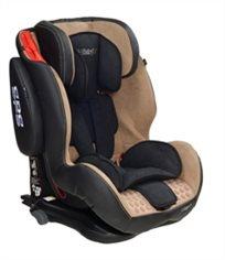 כסא בטיחות ובוסטר B Tiger Isofix למשקל 9 עד 36 קג בד Soft