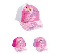 2 כובעי בייסבול הפנתר הורוד לילדות - דגם לבחירה