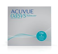 מארז 2 חבילות חסכון של 90 עדשות מגע Acuvue Oasys יומיות ל-3 חודשים