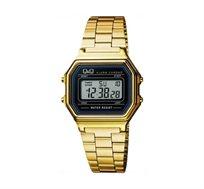שעון יד דיגיטלי לאישה Q&Q - זהב