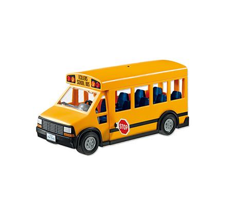 אוטובוס בית ספר - משחק לילדים