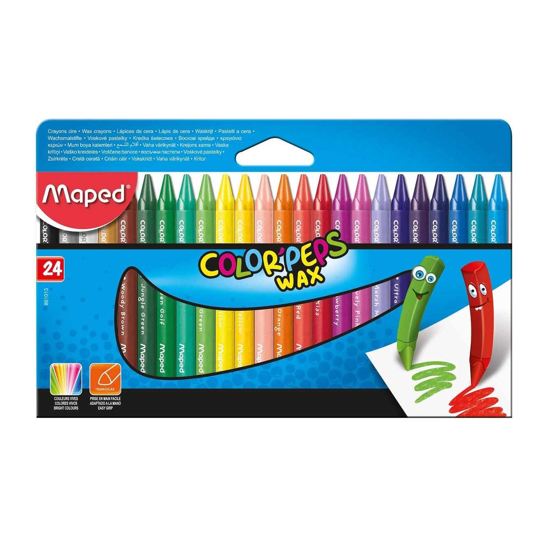 מארז הכולל 24 צבעי פסטל