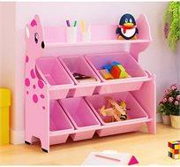 אירגונית לצעצועים לחדרי ילדים לשמירה על הסדר והניקיון במגוון צבעים לבחירה