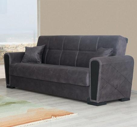 ספה תלת מושבית נפתחת עם ארגז מצעים דגם INKI