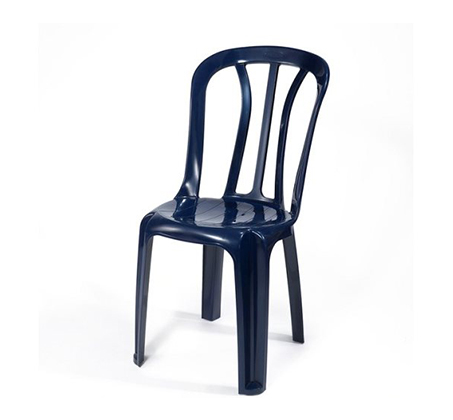 סט שישיית כסאות נערמים כתר פלסטיק לאירוח בחצר ובגינה במבחר גוונים - תמונה 4