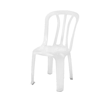 סט 6 כיסאות פלסטיק לחצר ולגינה במגוון צבעים