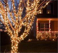 שרשרת LED סולארית בגדלים 5 מטר או 10 מטר
