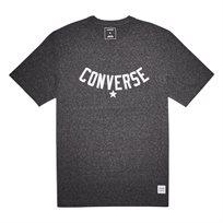 Converse גברים// טישירט הדפס שחור