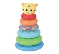 מגדל טבעות חתול צבעוני