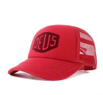 דאוס כובע מצחייה Deus Plum Red