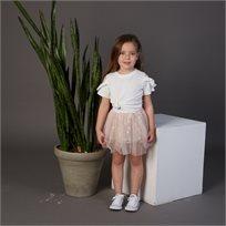 חצאית Oro לילדות (מידות 2-8 שנים) ורוד טול