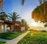 """נובמ'-דצמ' בכפר הנופש 'אוליב כפר כנרת', חוף האון כולל ילד ראשון חינם גם בחנוכה וסופ""""ש החל מ-₪434"""