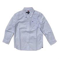 חולצת Tommy Hilfiger לילדים מכופתרת (מידות 2-18 שנים)