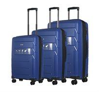 סט מזוודות קשיחות 3 גדלים Ferrini במגוון צבעים לבחירה