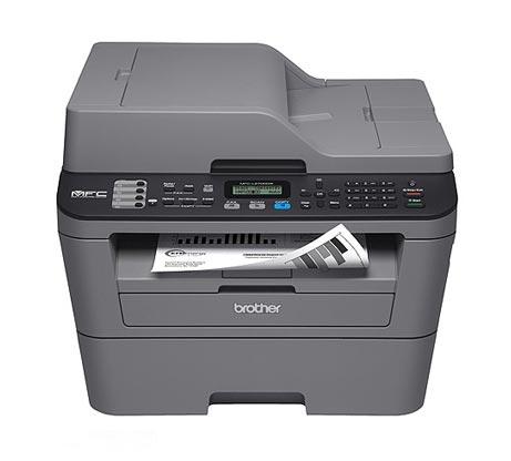 מדפסת משולבת  BROTHER דגם MFC-L2710DN הכוללת מדפסת לייזר איכותית מכונת צילום מסמכים וסורק - משלוח חינם - תמונה 2