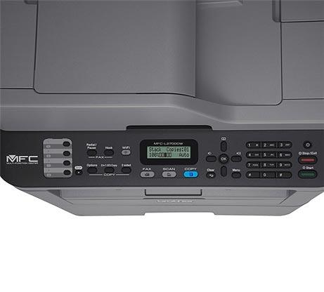 מדפסת משולבת  BROTHER דגם MFC-L2710DN הכוללת מדפסת לייזר איכותית מכונת צילום מסמכים וסורק - משלוח חינם - תמונה 4