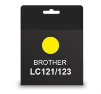 ראש דיו תואם BROTHER LC121/123 צהוב
