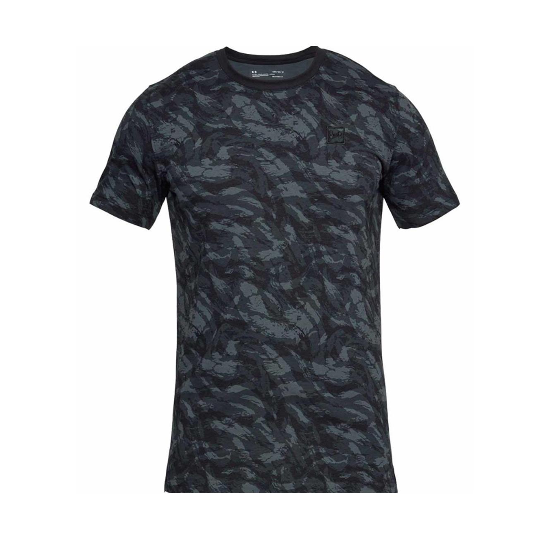 חולצת אימון לגברים Under Armour - צבע שחור