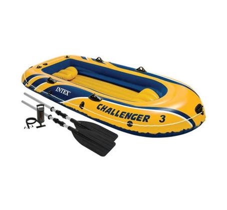 סירת משוטים מתנפחת Intex Challenger 3 דגם 68370