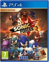 Sonic Forces Ps4 אירופאי!