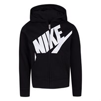 NIKE ילדות// NSW FUTURA FLEECE HOODIE BLACK