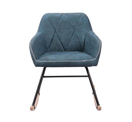 כורסא מעוצבת בעיצוב מודרני עם רגלי נדנדה דגם יניב HOME DECOR - תמונה 2