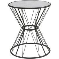 שולחן סלון Marbelous - שחור - משלוח חינם