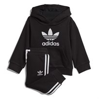 Adidas תינוקות // Trefoil Hoodie Set Black