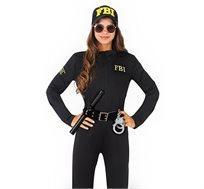 תחפושת לפורים סוכנת FBI לנערות