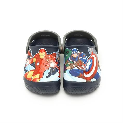 cdf20fd2c Crocs FL Avengers Multi Clog - כפכף קרוקס לילדים בעיצוב גיבורי העל האהובים  בצבע נייבי - משלוח חינם