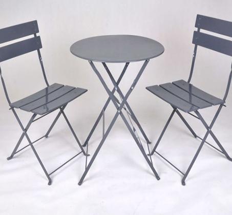 שונות סט ריהוט הכולל שולחן ו-2 כסאות מתקפלים לגינה ולמרפסת - משלוח חינם RY-52