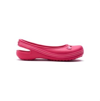 8b73c08fc Crocs Genna II Gem Flat - נעל בובה בצבע קורל לילדות