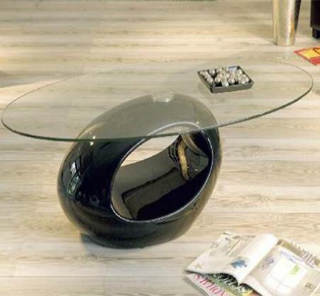 מאוד שולחן זכוכית סלוני מעוצב Design2easy דגם pucci ב-2 צבעים לבחירה ZL-33